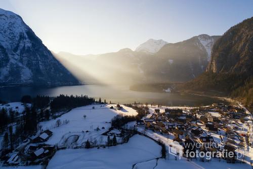 Leniwy poranek w austriackim Obertraun.