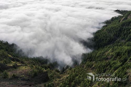 Fotografia wykonana na Teneryfie w parku narodowym Teide.