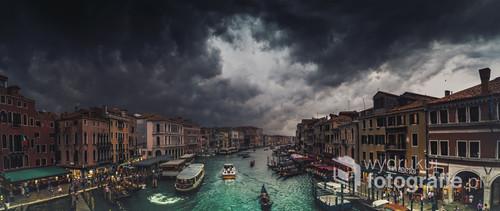 Burza nadciąga na Wenecję