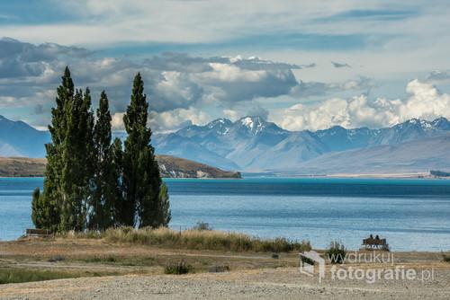 Moim zdaniem jedno z piękniejszych miejsc świata - Lake Tekapo na południowej wyspie Nowej Zelandii.