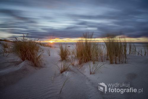Fotografia została wykonana we wrzesniu 2016 na plazy zachodniej w Ustce, PL
