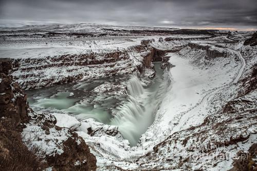 Gullfoss Waterfall, Islandia