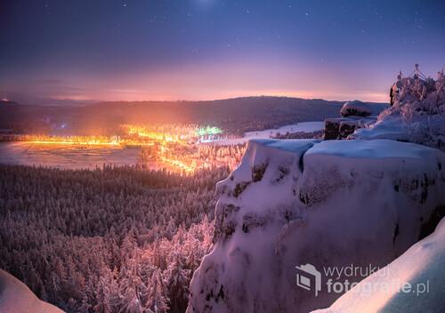 Nocną porą na Szczelińcu Wielkim