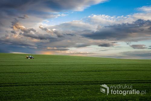 Zawsze marzyłem o takiej typu fotografii. Minimalistycznej z pięknym tłem.