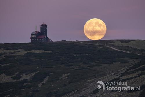 Fotografia została wykonana w Karkonoszach, zdjęcie dostało się do finału Wielkiego Konkursu Fotograficznego National Geographic Polska.