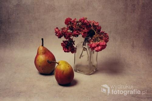 martwa natura w jesiennym klimacie