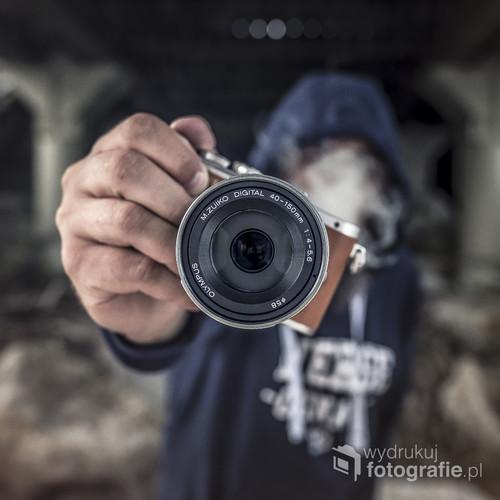 fotografia powstała w miasteczku Chłopy pod molo.