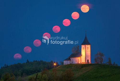 Droga Księżyca nad Jamnikiem na Słowacji