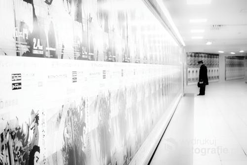 Dworzec kolejowy Ikebukuro, Tokio. Normalnie zatłoczony, ale zdarzają się krótkie chwile, gdy pustoszeje.