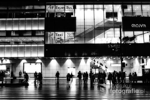 Shinjuku Bus Terminal, Shunjuku, Japonia