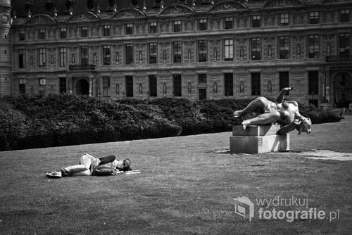 Fotografia cyfrowa wykonana w Paryżu, fragment wystawy The Street prezentowanej w Krakowie w 2015 r.