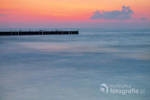 Zdjęcie wykonane po zachodzie słońca.