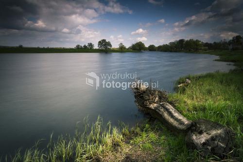 rzeka Odra, strona Polska, okolice miejscowości Piasek