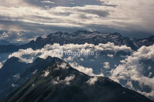 Alpy julijskie - Słowenia, zdjęcie wykonane na szczycie Krn.
