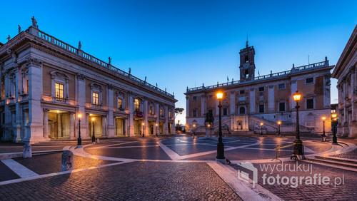 Plac na Kapitolu - Rzym