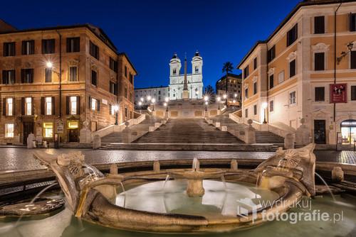 Plac Hiszpański - Rzym