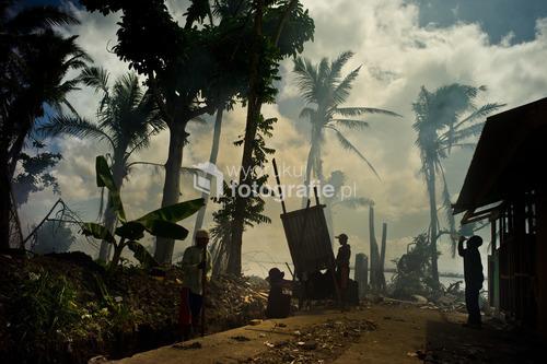 tacloban filipiny 2014  3 mies po uderzeniu huraganu Yolanda  2 miejsce WKF 2014