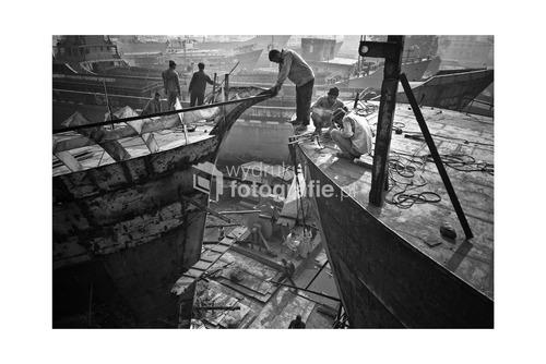dhaka. bangladesz. 2012  praca w stoczni, ciezka, bez zabezpieczen  WKF NG 2012 wyroznienie