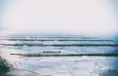 Ustronie Morskie. Poranek wczesną wiosną 2018