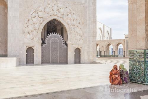 Meczet Hassana II w Casa Blance. Jeden z największych na swiecie. Maroko, 2010.