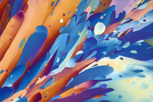 Unikatowa kompozycja będąca wynikiem wielu godzin eksperymentów z rozmaitymi mieszaninami substancji chemicznych pod mikroskopem.