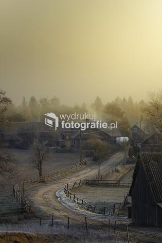 wieś Sokołda, woj. Podlaskie, Polska