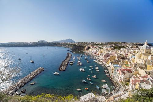 Najpiękniejsza zatoka włoskiej wyspy Procida.